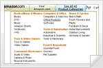 Menus Sample - Amazon Style Menu